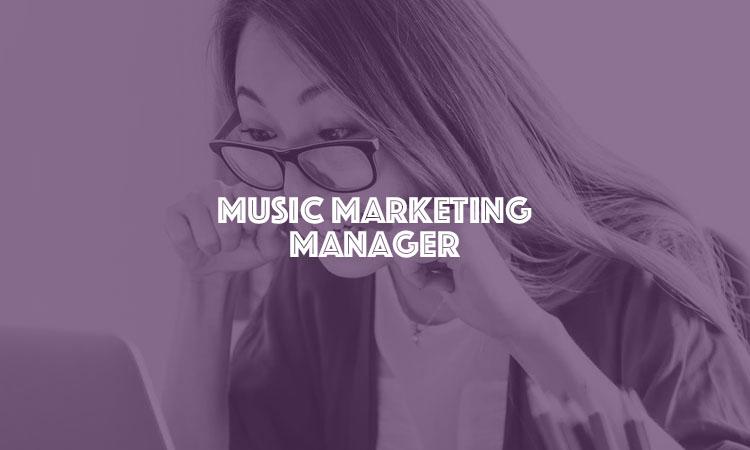 music marketing manager